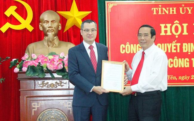 Công bố quyết định ông Phạm Đại Dương làm Bí thư Tỉnh ủy Phú Yên