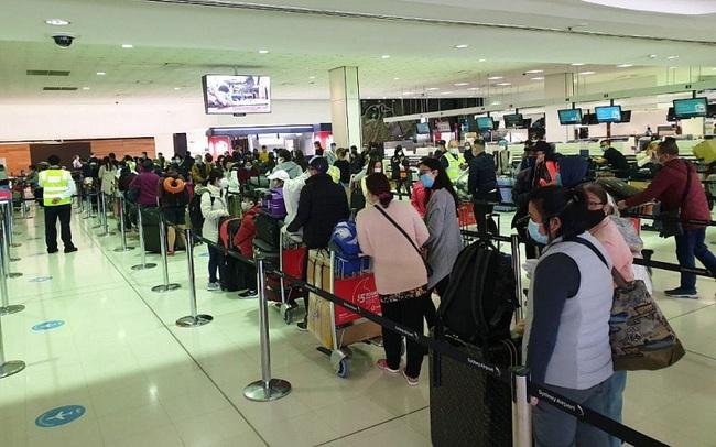 Đưa hơn 690 công dân Việt Nam từ Australia, New Zealand, Tonga và Nhật Bản về nước an toàn