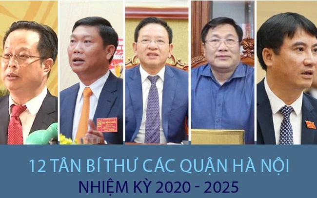 Chân dung 12 Bí thư các quận ở Hà Nội