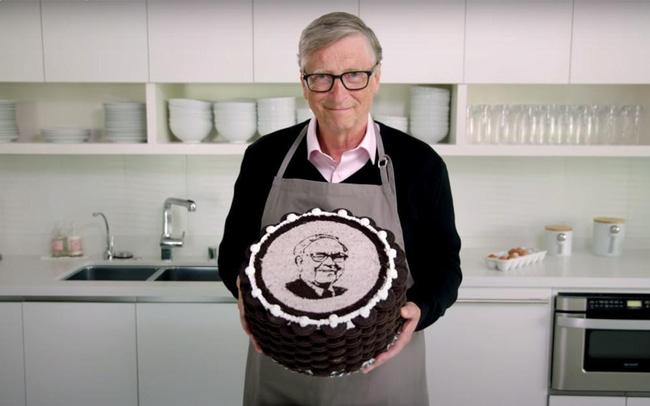 Món quà đặc biệt Bill Gates tặng Warren Buffett trong sinh nhật lần thứ 90