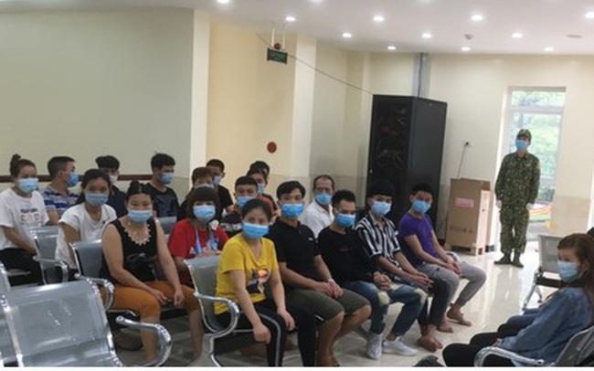 27 người nhập cảnh trái phép từ Trung Quốc vào Lạng Sơn