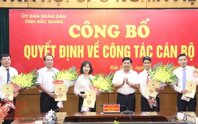 Bắc Giang điều động, bổ nhiệm nhiều lãnh đạo chủ chốt