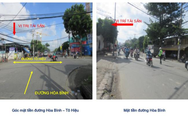 """Lô """"đất vàng"""" hơn 6.000m2 tại quận Tân Phú (Tp.HCM) Sacombank vừa hạ giá bán đấu giá để thu hồi nợ"""