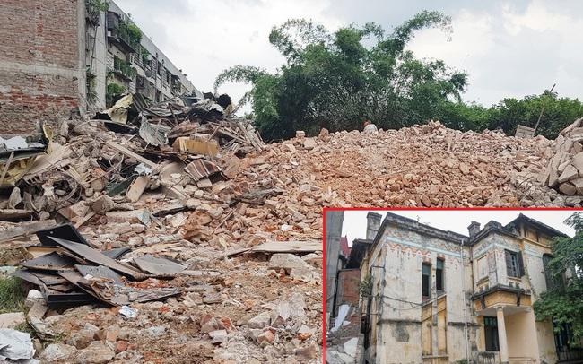 Phá dỡ biệt thự cổ nhường chỗ cho dự án đường nghìn tỷ