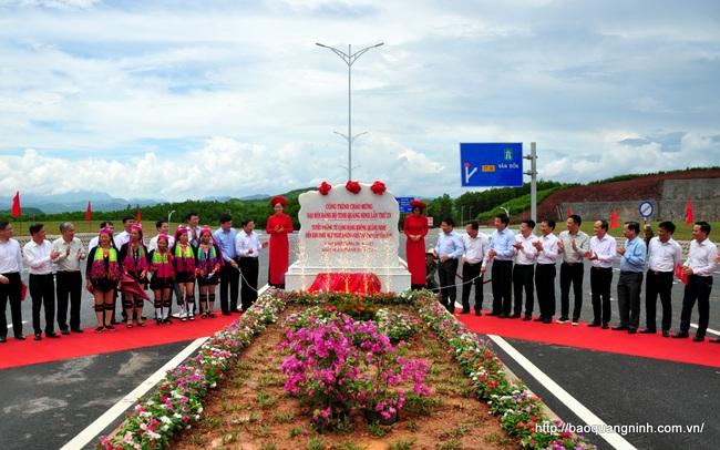 Quảng Ninh hoàn thành đường 15km nối sân bay Vân Đồn đến Khu phức hợp giải trí cao cấp Vân Đồn