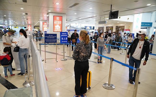 Sân bay chuẩn bị sẵn sàng phương án đón khách quốc tế trở lại