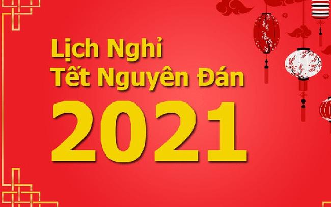 Đề xuất 2 phương án nghỉ Tết Nguyên Đán 2021