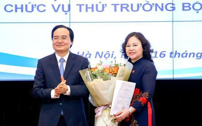 Công bố quyết định bổ nhiệm tân Thứ trưởng Bộ Giáo dục và Đào tạo