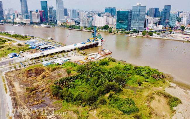 Thống nhất phương án thiết kế cầu đi bộ qua sông Sài Gòn