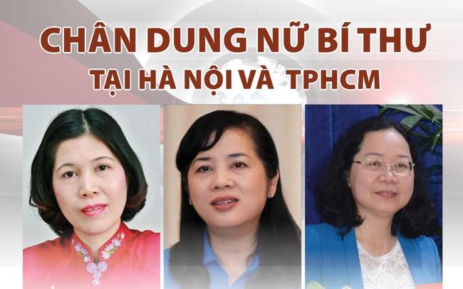 Chân dung 8 nữ Bí thư tại Hà Nội và TPHCM