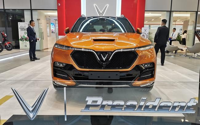 VinFast President chốt giá 4,6 tỷ đồng, sử dụng động cơ V8 6.2L, tốc độ tối đa gần 300 km/h