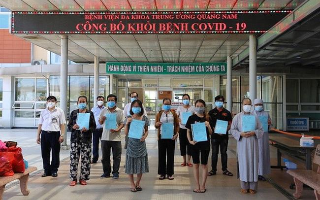 Thêm 19 bệnh nhân COVID-19 tại Quảng Nam được công bố khỏi bệnh