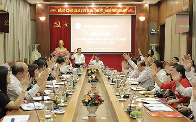 Tổng Giám đốc Nguyễn Thế Mạnh giữ chức Bí thư Đảng ủy BHXH Việt Nam