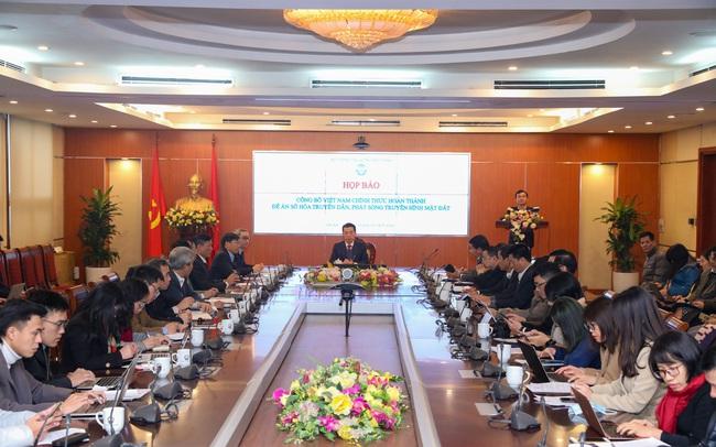 Việt Nam hoàn thành Đề án số hoá truyền hình