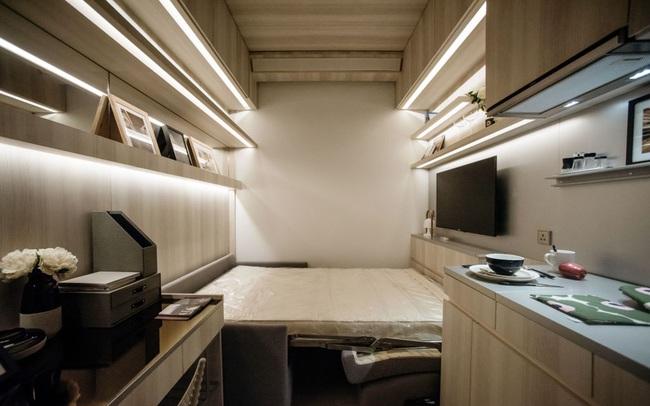 645.000 USD 1 căn hộ chỉ rộng bằng 2 chỗ đỗ xe