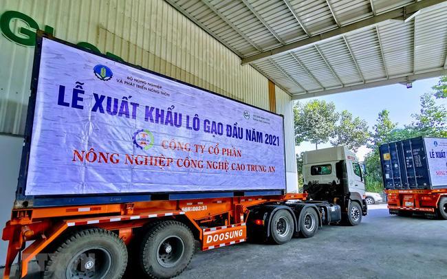 Lô gạo xuất khẩu đầu năm 2021 được giá cao
