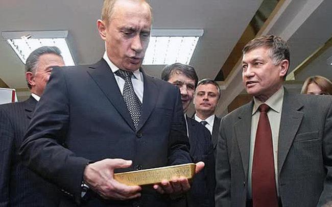 Nga lần đầu tiên dự trữ nhiều vàng hơn USD