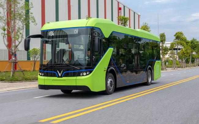 Kiến nghị trình Thủ tướng chấp thuận đưa xe bus điện Vingroup vào thí điểm hoạt động tại TP.HCM