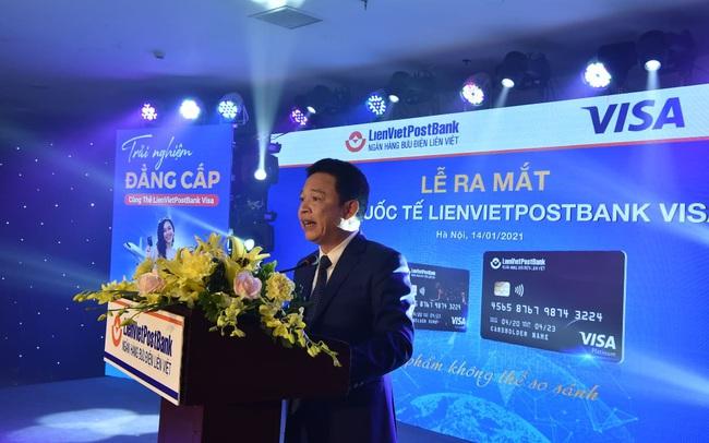 LienVietPostBank ra mắt một loạt thẻ, tham vọng đứng trong top 5 về thẻ Visa trong 3 năm tới