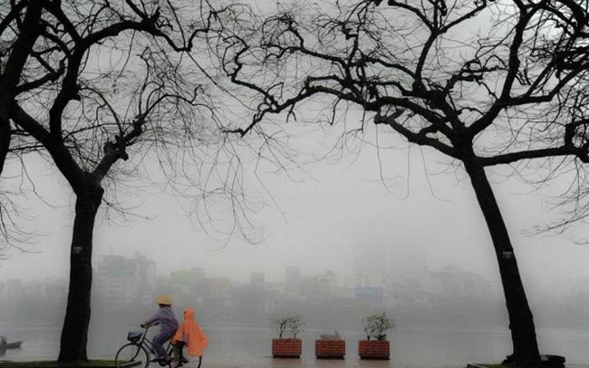 Hà Nội đón gió mùa Đông Bắc, chiều nay có mưa lạnh