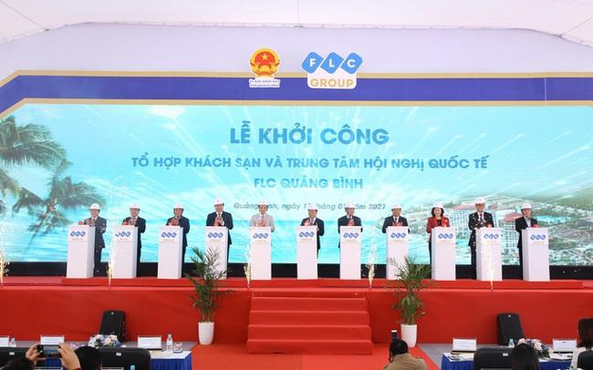 Khởi công tổ hợp khách sạn năm sao và trung tâm hội nghị quốc tế nằm trong siêu dự án 2.000ha tại Quảng Bình