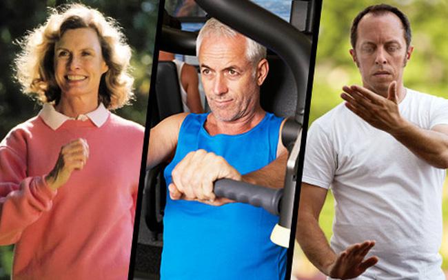 Người ở tuổi 50 rất nên tập 5 bài tập này: Rất cơ bản nhưng lại giúp tăng sức khỏe xương, đẩy lùi lão hóa hiệu quả
