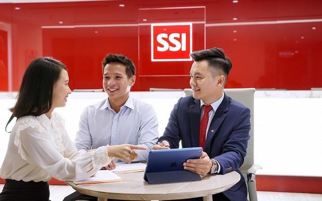 SSI lãi trước thuế hợp nhất năm 2020 đạt 1.545 tỷ, tăng 40% năm 2019