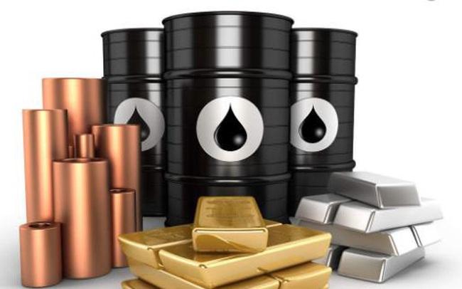 Thị trường ngày 23/1: Giá dầu, vàng, kim loại và nông sản đồng loạt giảm mạnh