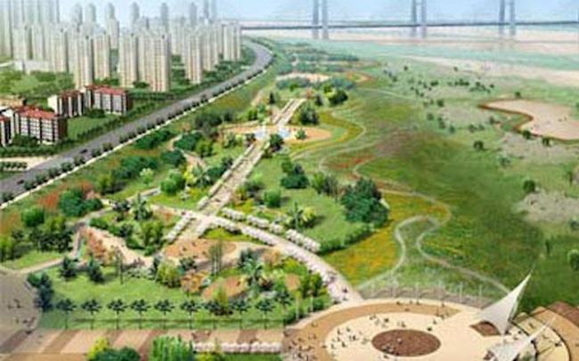 Hà Nội gấp rút quy hoạch 2 bờ sông Hồng