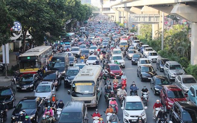 Cận cảnh 26 'điểm đen' ùn tắc ở Hà Nội