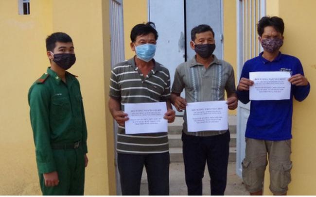 Phát hiện 3 đối tượng đưa người nhập cảnh trái phép vào Việt Nam