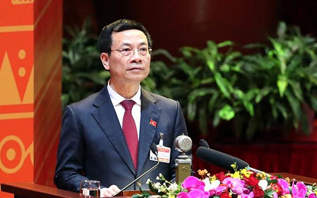 Bộ trưởng Nguyễn Mạnh Hùng: 'Năm 2021, mỗi người dân sẽ sở hữu một danh tính số'