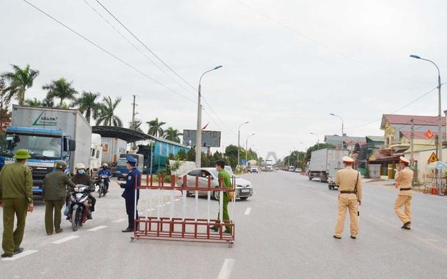 Từ 12h trưa nay Quảng Ninh phong tỏa 1 xã giáp ranh với TP. Chí Linh