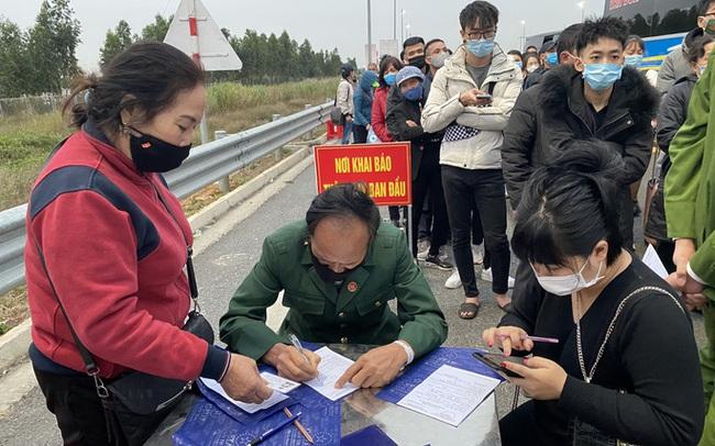Người từng đến Chí Linh và sân bay Vân Đồn từ tháng 1-2021 liên hệ ngay cơ quan y tế