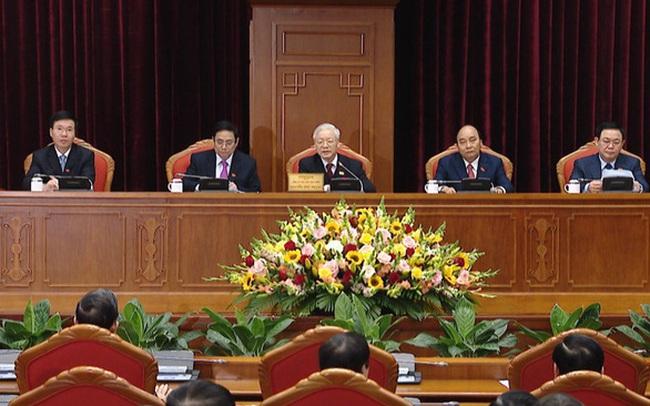 Chùm ảnh: Trung ương khóa XIII họp bầu Bộ Chính trị, Tổng Bí thư