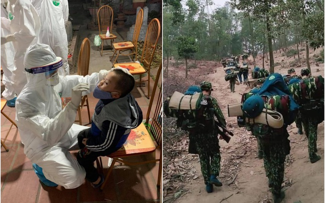 Nghẹn lòng hình ảnh các bác sĩ, chiến sĩ trước trận chiến mới chống lại Covid-19 khi Tết đã cận kề: Nửa đêm vẫn lao vào tâm dịch, lên rừng để nhường chỗ nhân dân