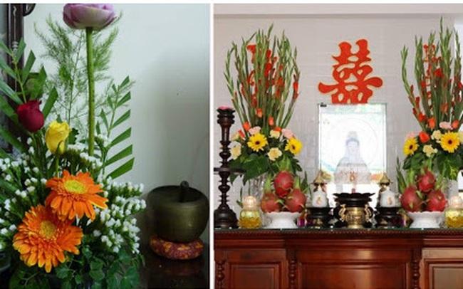 7 loại hoa cúng trên bàn thờ Tết vừa đẹp vừa hợp phong thủy và những kiêng kị khi chọn hoa