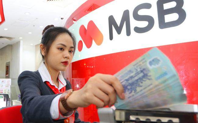 MSB ước lãi hơn 2.500 tỷ đồng trong năm 2020, dự kiến chia cổ tức tỷ lệ 15%