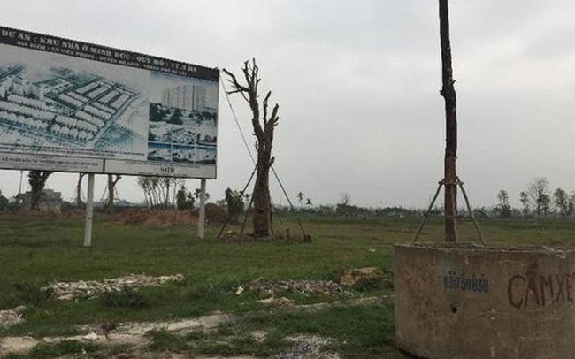 Hà Nội lập đoàn liên ngành thu hồi loạt dự án bỏ hoang