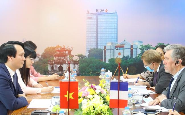 BIDV và Cơ quan Phát triển Pháp (AFD) tăng cường hợp tác