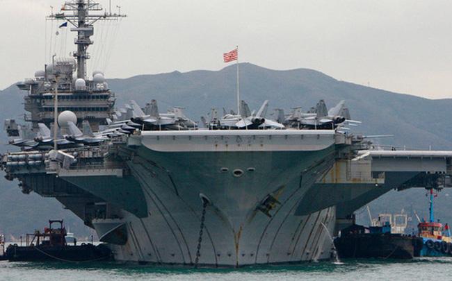Có giá đến hàng tỷ USD, tại sao giờ các tàu sân bay Mỹ lại được bán với giá 1 xu?