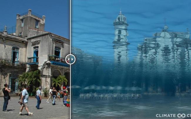 Viễn cảnh Trái đất nóng lên 3°C: Văn Miếu của Hà Nội cũng không thoát cảnh chìm trong biển nước