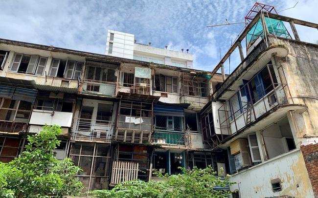Cần 500 tỷ đồng để tu sửa chung cư xuống cấp tại Tp.HCM