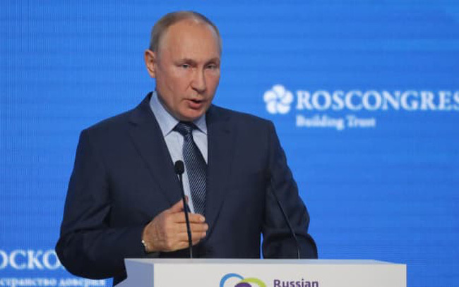 Tổng thống Putin phản pháo cáo buộc dùng khí đốt làm vũ khí: Ngay cả trong Chiến tranh Lạnh, Nga vẫn cung cấp khí đốt cho châu Âu