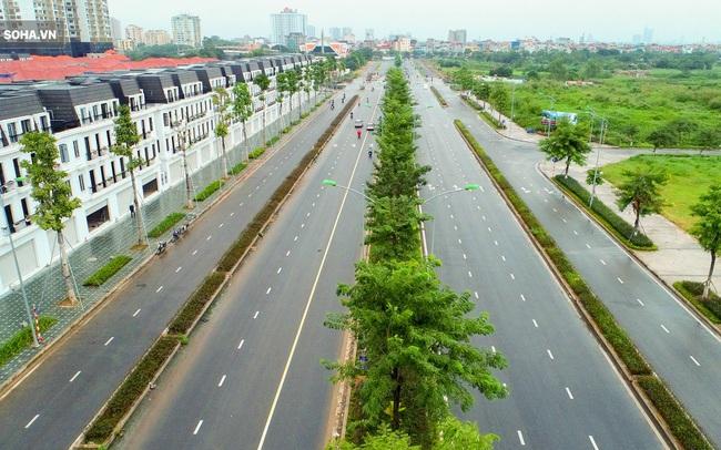 Tuyến đường Tây Thăng Long rộng thênh thang, đẹp hút hồn chạy xuyên qua khu đô thị đắt đỏ nhất Thủ đô
