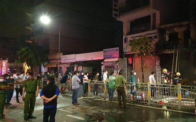 Cháy nhà trong đêm ở TPHCM làm 1 người tử vong, 4 người chạy thoát