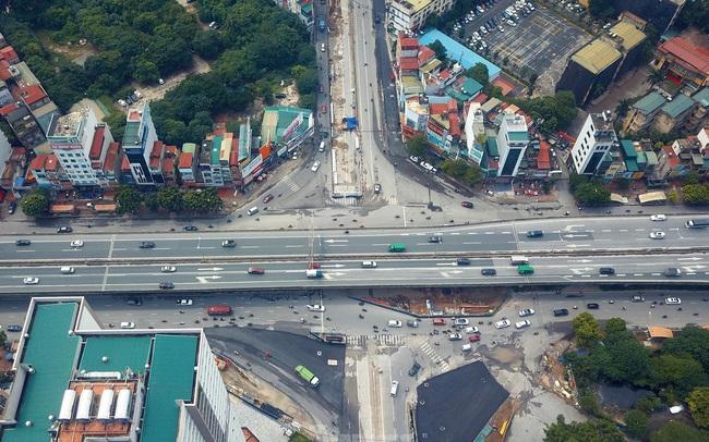 Dự án trọng điểm hầm chui Lê Văn Lương đang thi công hiện ra sao sau thời gian giãn cách?