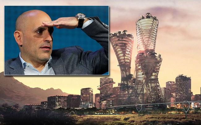 Tỷ phú mạnh tay chi tiền để xây dựng nguyên một thành phố: Tổng chi phí dự kiến khoảng 400 triệu USD!