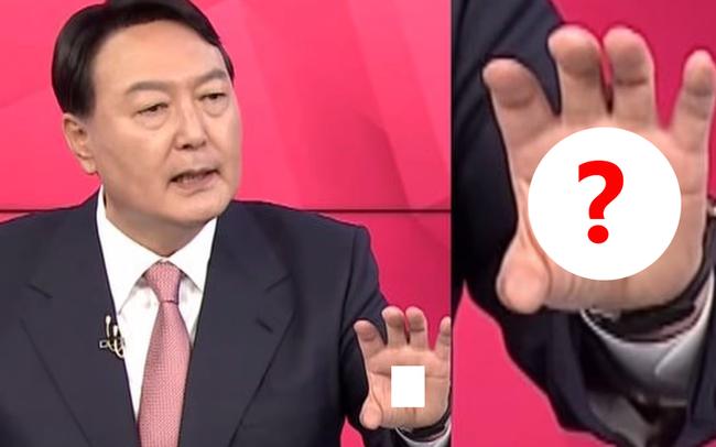 """Ứng viên tổng thống Hàn Quốc viết chữ Trung Quốc lạ trong lòng bàn tay: Dân đồn ầm """"thần chú, tà giáo"""""""