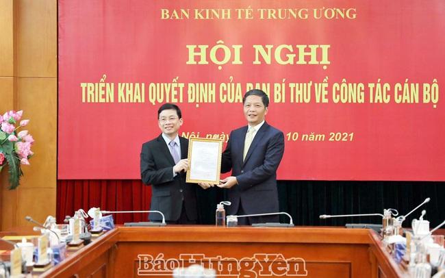 Ông Nguyễn Duy Hưng làm Phó ban Kinh tế Trung ương
